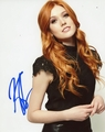 Katherine McNamara Signed 8x10 Photo