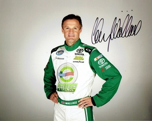 Kenny Wallace Signed 8x10 Photo