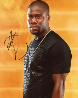 Kevin Hart Signed 8x10 Photo