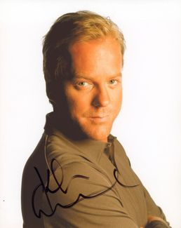 Kiefer Sutherland Signed 8x10 Photo