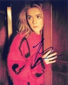 Kiernan Shipka Signed 8x10 Photo