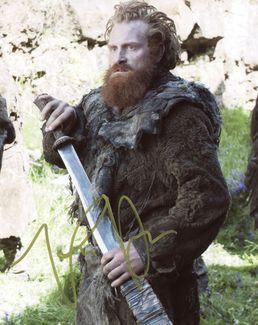 Kristofer Hivju Signed 8x10 Photo - Video Proof