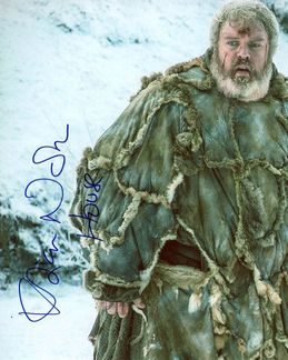 Kristian Nairn Signed 8x10 Photo - Video Proof