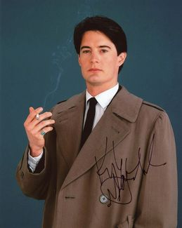 Kyle MacLachlan Signed 8x10 Photo - Video Proof