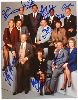 L.A. Law Signed 8x10 Photo