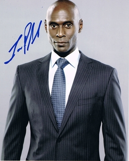 Lance Reddick Signed 8x10 Photo