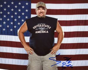 Larry the Cable Guy Signed 8x10 Photo