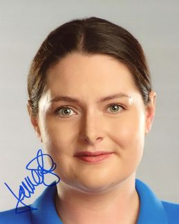Lauren Ash Signed 8x10 Photo