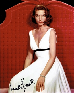 Lauren Bacall Signed 8x10 Photo