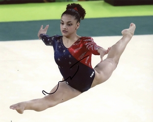 Laurie Hernandez Signed 8x10 Photo