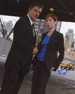 Chris Noth & Julianne Nicholson Signed 8x10 Photo