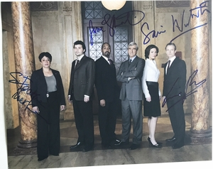 Law & Order Signed 11x14 Photo