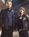Vincent D'Onofrio & Kathryn Erbe Signed 8x10 Photo