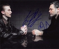 Vincent D'Onofrio & Lou Taylor Pucci Signed 8x10 Photo
