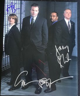 Law & Order: Criminal Intent Signed 11x14 Photo