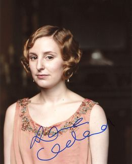 Laura Carmichael Signed 8x10 Photo - Video Proof