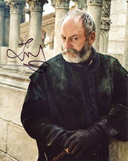 Liam Cunningham Signed 8x10 Photo - Video Proof