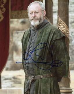 Liam Cunningham Signed 8x10 Photo