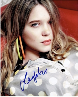 Lea Seydoux Signed 8x10 Photo