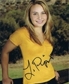 Leah Pipes Signed 8x10 Photo