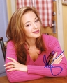 Leah Remini Signed 8x10 Photo