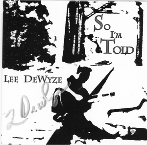 Lee DeWyze Signed CD