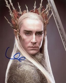 Lee Pace Signed 8x10 Photo