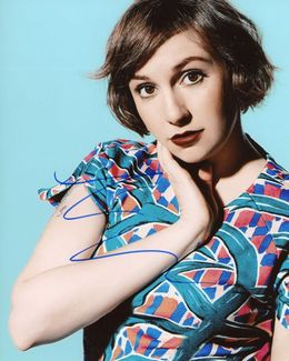 Lena Dunham Signed 8x10 Photo