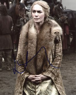 Lena Headey Signed 8x10 Photo - Video Proof
