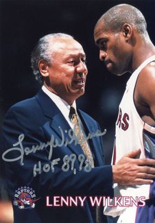 Lenny Wilkens Signed 5x7 Photo