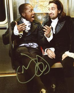 Leslie Odom, Jr. Signed 8x10 Photo