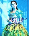 Lily Collins Signed 8x10 Photo