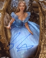 Lily James Signed 8x10 Photo - Video Proof