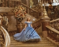 Lily James Signed 8x10 Photo
