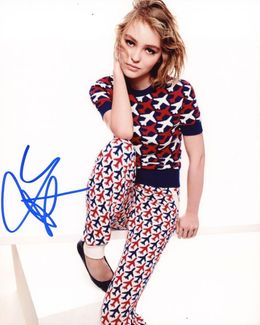 Lily-Rose Depp Signed 8x10 Photo