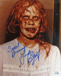 Linda Blair Signed 8x10 Photo