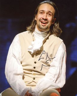 Lin-Manuel Miranda Signed 8x10 Photo