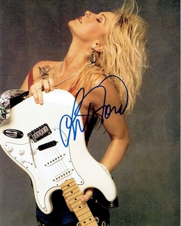 Lita Ford Signed 8x10 Photo