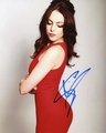 Elizabeth Gillies Signed 8x10 Photo - Video Proof