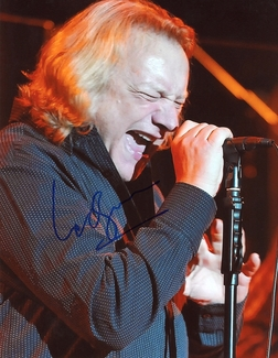 Lou Gramm Signed 8x10 Photo