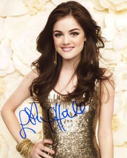 Lucy Hale Signed 8x10 Photo