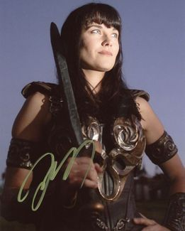 Lucy Lawless Signed 8x10 Photo