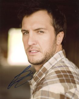 Luke Bryan Signed 8x10 Photo