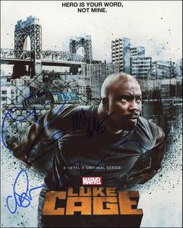 Luke Cage Signed 8x10 Photo