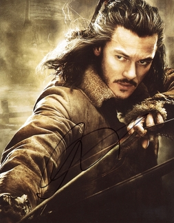 Luke Evans Signed 8x10 Photo - Video Proof