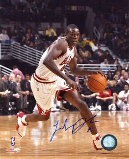 Luol Deng Signed 8x10 Photo