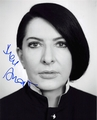 Marina Abramovic Signed 8x10 Photo