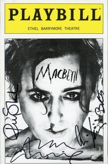 Macbeth Signed Playbill