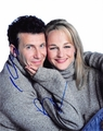 Helen Hunt & Paul Reiser Signed 8x10 Photo