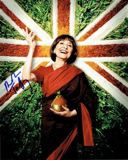 Madhur Jaffrey Signed 8x10 Photo